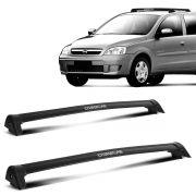 Rack Teto Corsa Sedan 2 e 4 Portas Até 2013 Preto