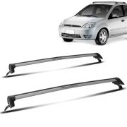 Rack Teto Fiesta Hatch 4 Portas Até 2012 Prata