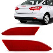 Refletor Parachoque Traseiro Focus Sedan 2014 2015 2016 2017 2018