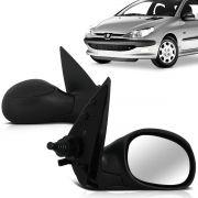 Retrovisor Peugeot 206 207 99 00 01 02 03 04 05 06 07 08 09 10 11 12 13 14 Controle Interno
