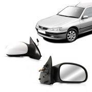 Retrovisor Peugeot 406 98 99 2000 2001 2002 2003 2004 Elétrico Com Desembaçador