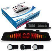 Sensor De Estacionamento 4 Pontos Acabamento Original Sensor Slim