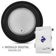 Subwoofer Bobina Dupla Xd500-10 + Módulo Digital Sw240 Dx