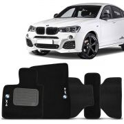 Tapete Carpete Bmw X42014 2015 2016 2017 Preto