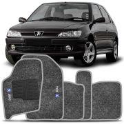 Tapete Carpete Peugeot 306 93 94 95 96 97 98 99 2000 2001 Grafite