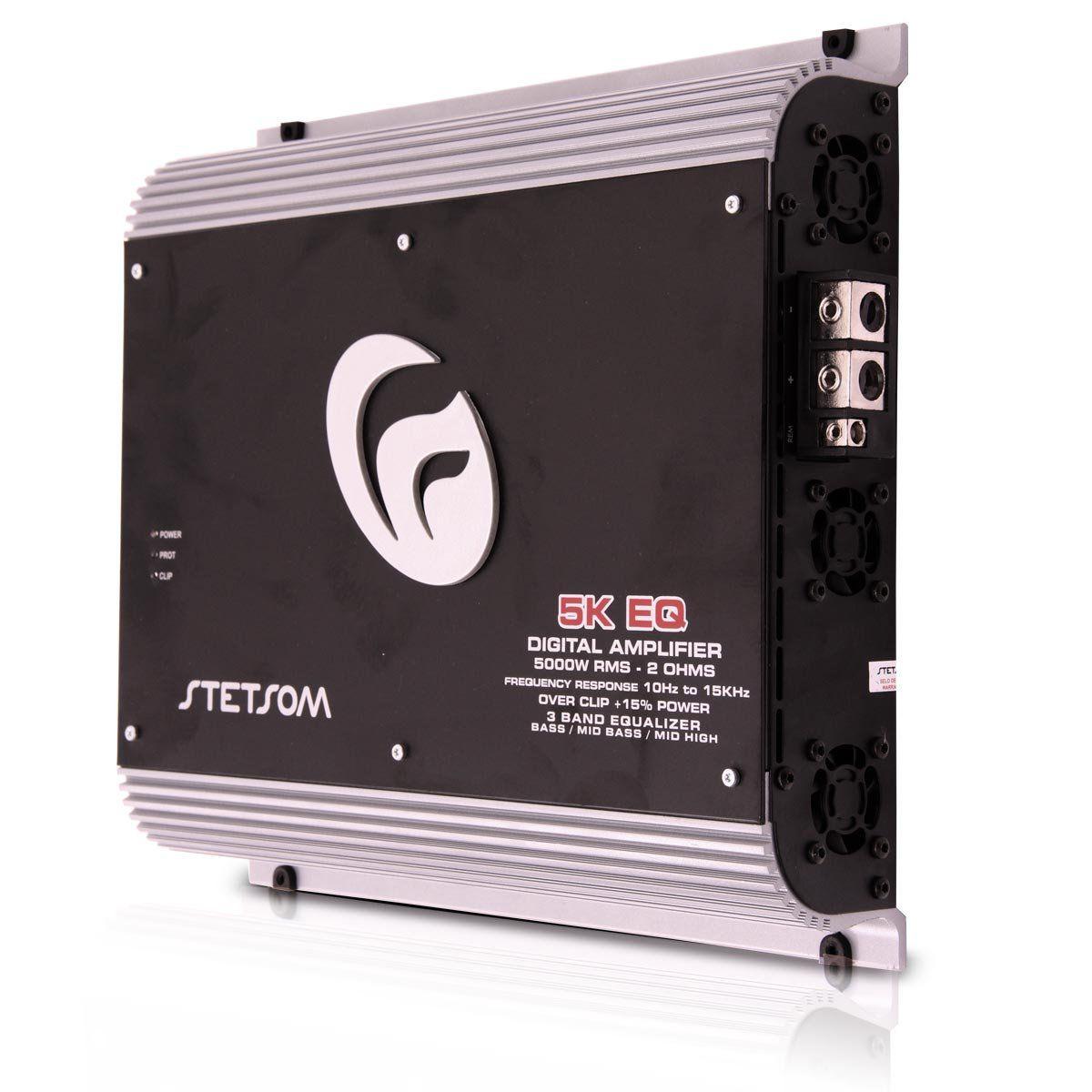 Amplificador Digital Vulcan 52000W Rms 1Ch 2 Ohms