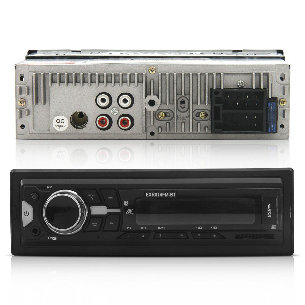 Auto Radio Fm Usb Mp3 Sd E Id3 Tag Bluetooth