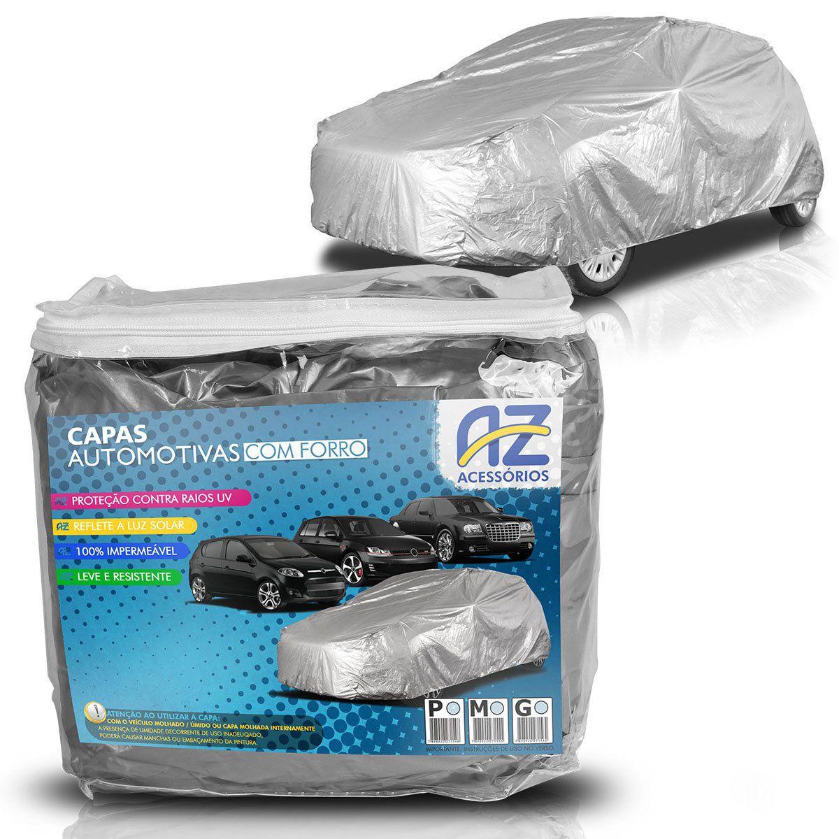 Capa para Cobrir Carro Impermeável com Forro Central P M G
