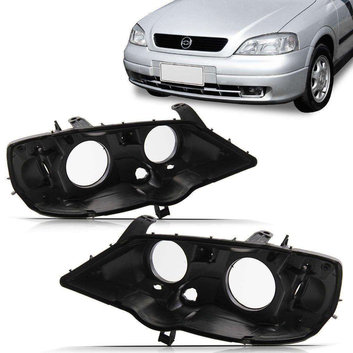 Carcaça Farol Astra 98 99 2000 2001 2002 Foco Duplo