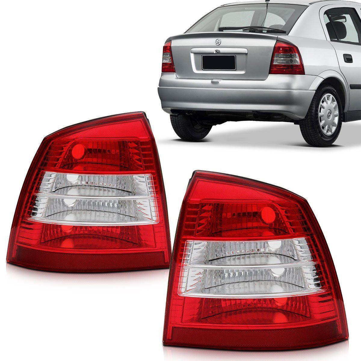 Lanterna Astra Hatch 98 99 2000 2001 2002 Bicolor