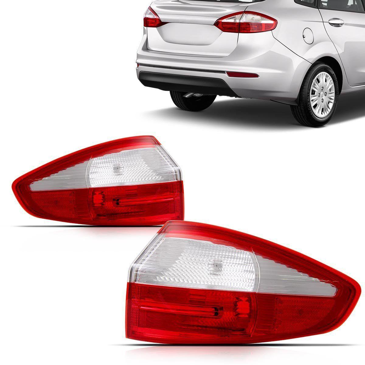 Lanterna New Fiesta Sedan 2013 20014 2015 Canto
