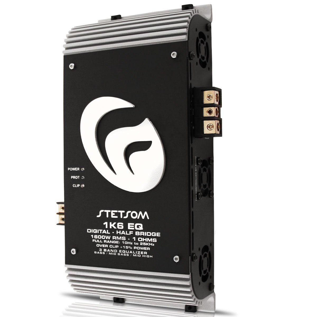 Módulo Amplificador 1K6Eq-1 Digital Vulcan 1600W Rms 1Ch 1 Ohm