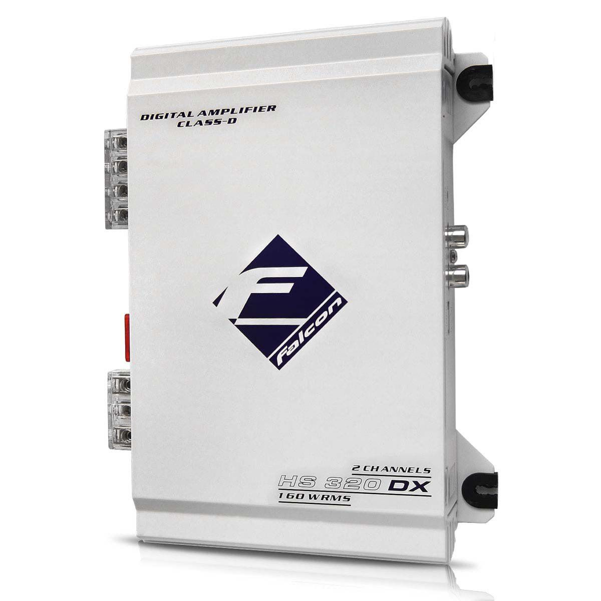 Módulo Amplificador Falcon Hs320 Dx Digital 160w Rms 2 Can