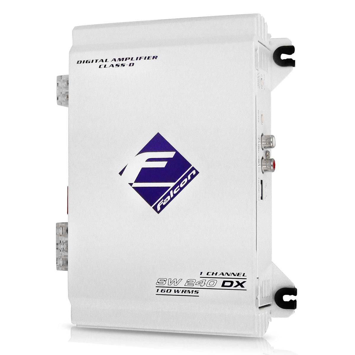Módulo Amplificador Falcon Sw240 Dx Digital 160w Rms 1 Canal