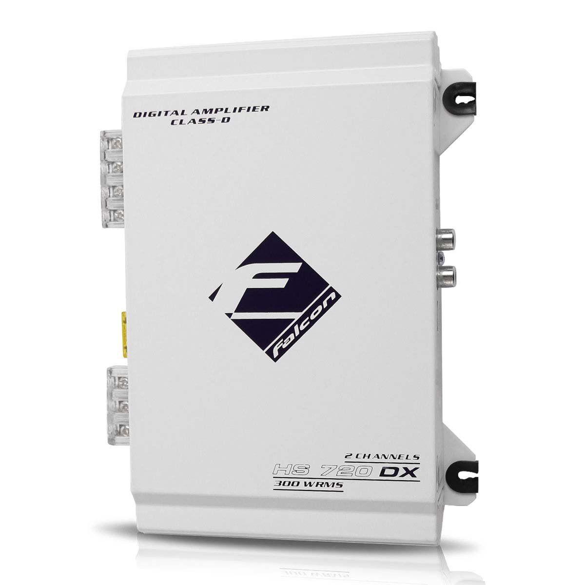 Módulo Amplificador Hs720 Dx Digital 300w Rms 2 Can Falcon