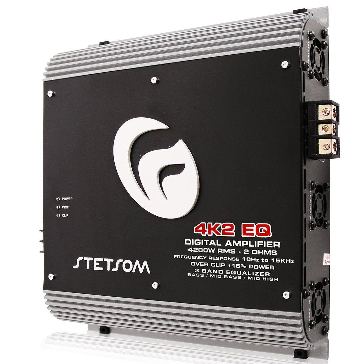 Modulo Amplificador Stetsom 4K2Eq Digital Vulcan 4200W 1 Canal 2 Ohm