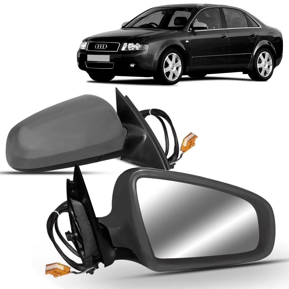 Retrovisor Audi A4 2000 2001 2002 2003 2004 Elétrico Com Desembaçador Primer