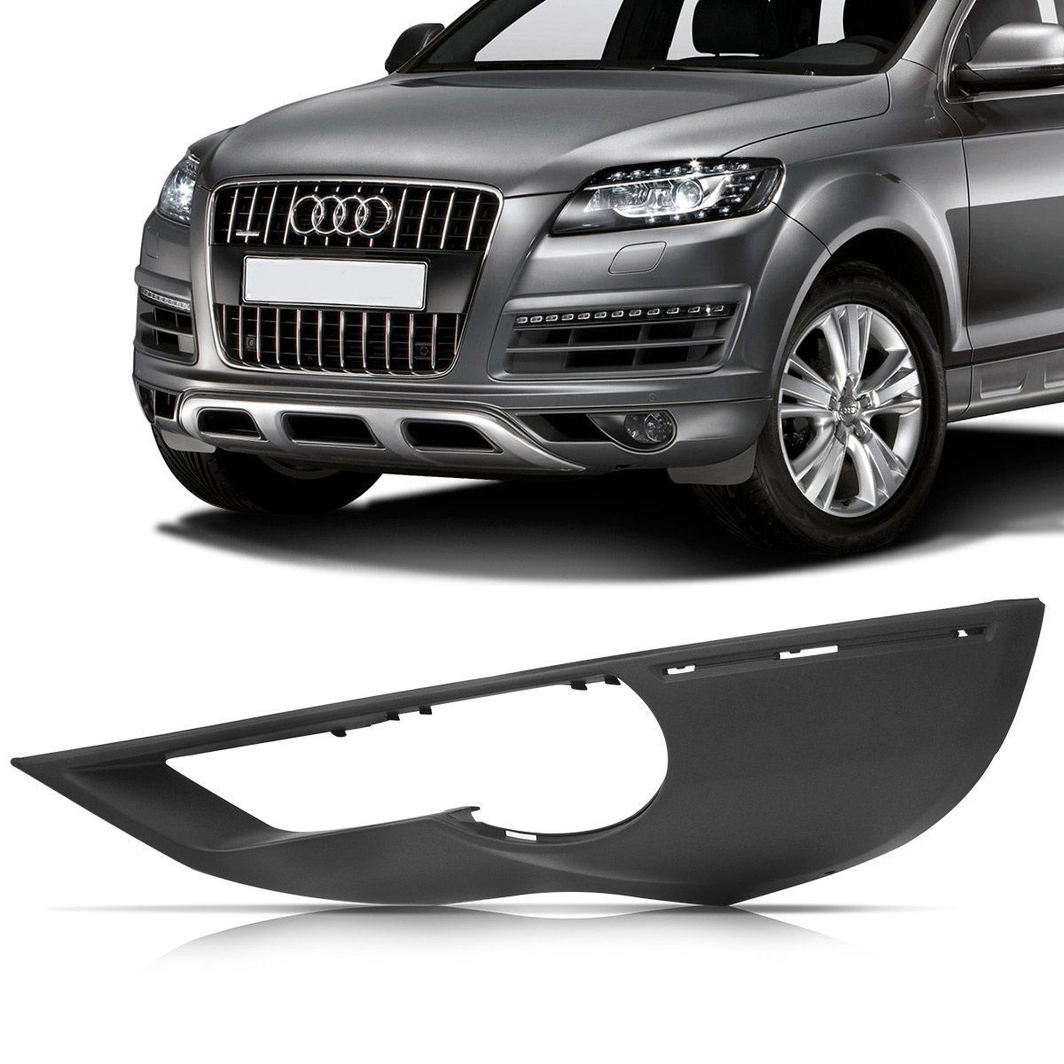 Spoiler Dianteiro Audi Q7 11/15 Le