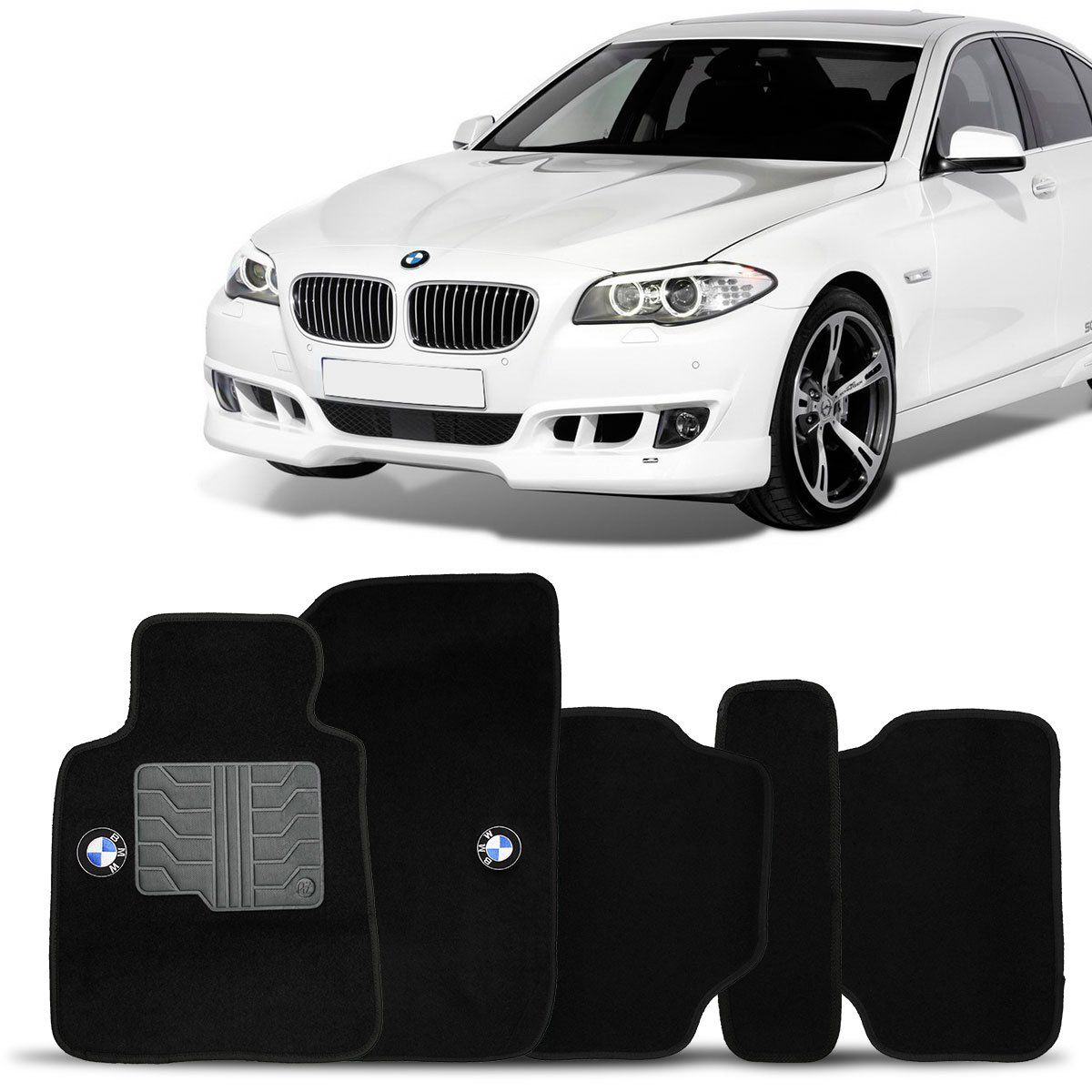 Tapete Carpete Bmw 323 98 99 2000 Preto