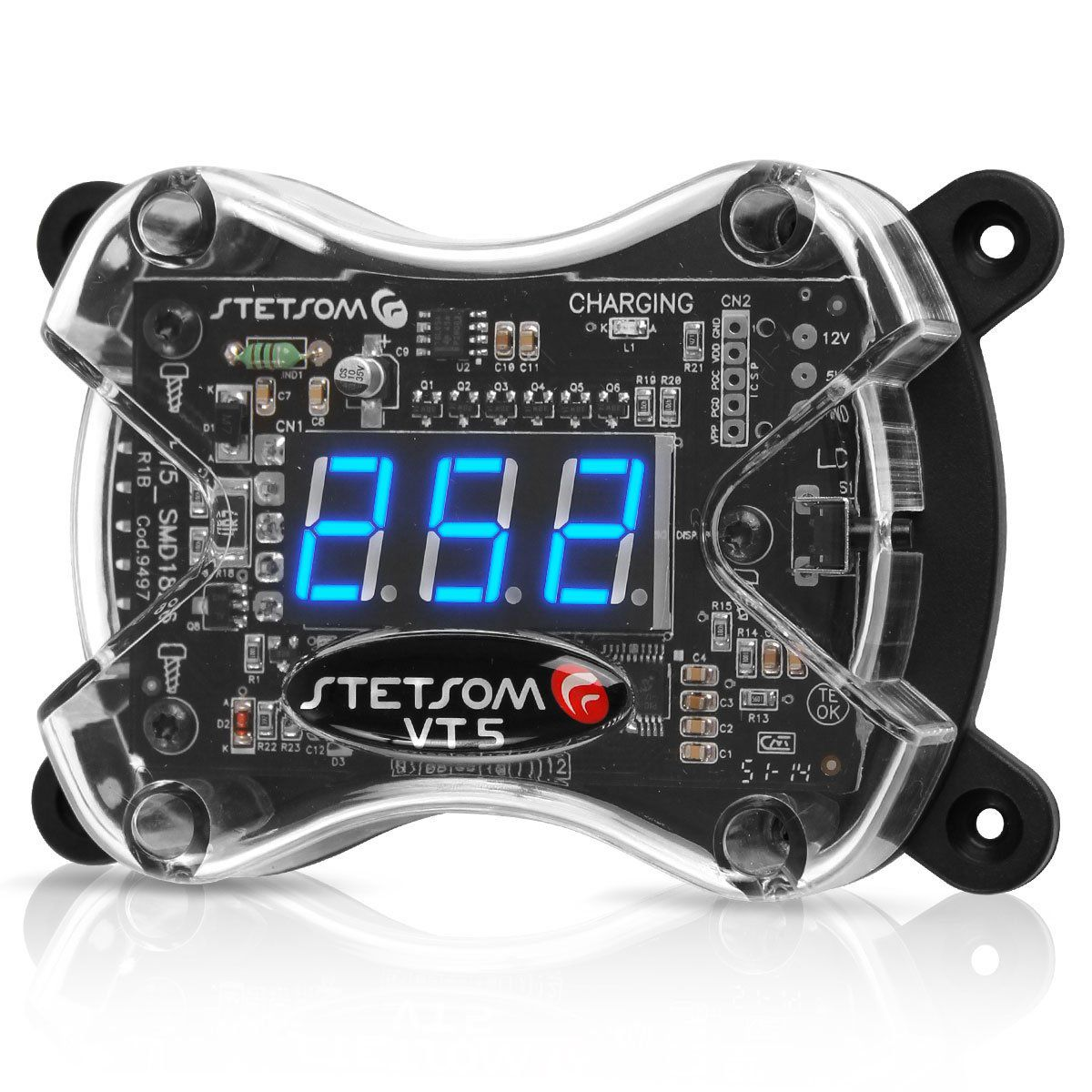 Voltímetro Digital Stetsom 0 a 390 Volts 4 Ma Vt5