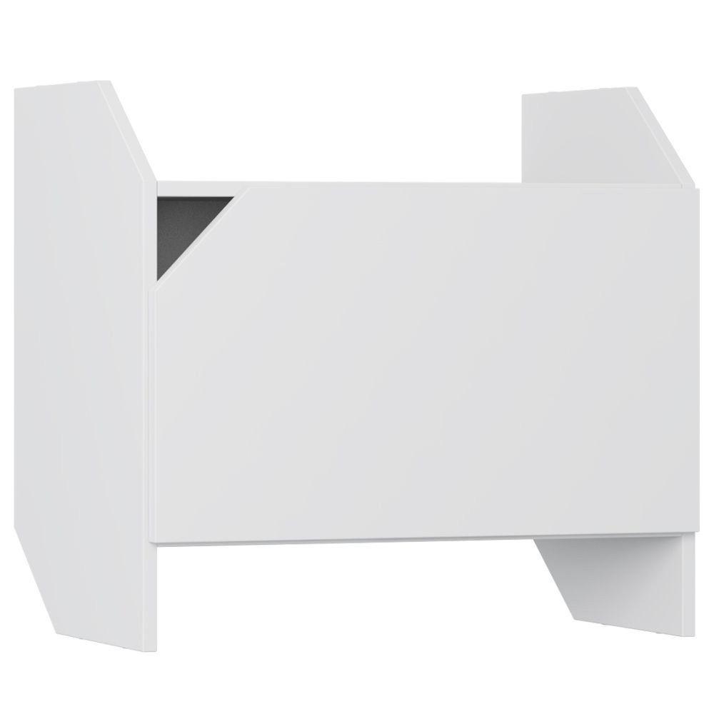Armário Aéreo Com Porta Soul Branco TX - Be Mobiliário