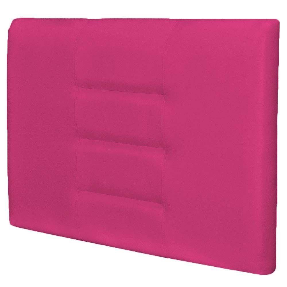 Cabeceira Painel Para Quarto Solteiro Sabrina W01 Corino Pink 1,00 - Lyam Decor