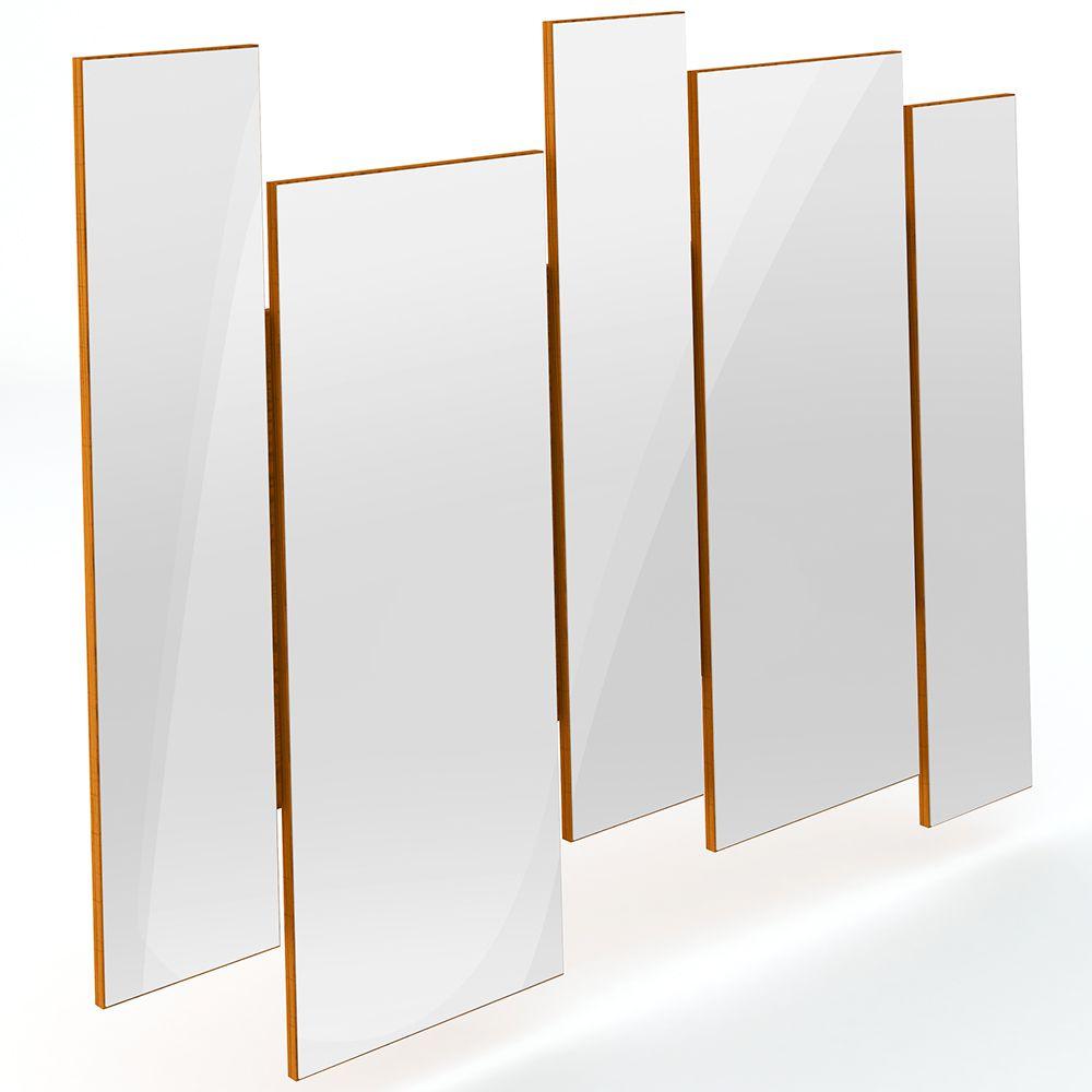 Espelho Decorativo com Moldura Ypê Isadora N01 - Lyam Decor