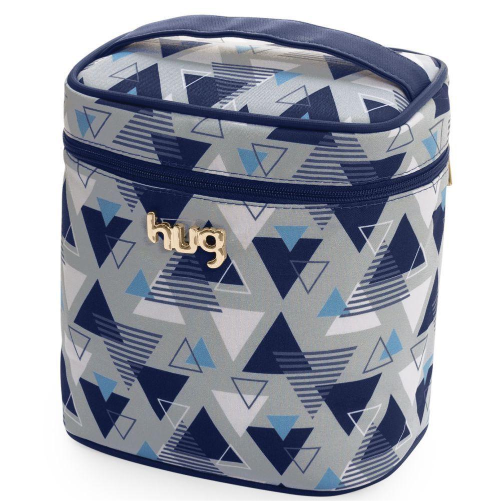 Frasqueira Térmica Maternidade Madri Azul Marinho M - Hug Baby