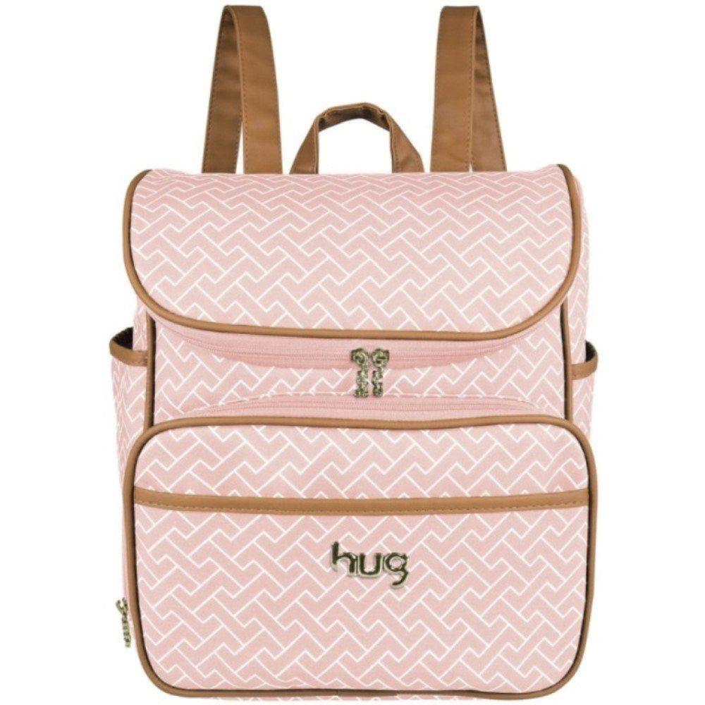 Kit 04 Bolsas Mala Maternidade Xodó Rosa - Hug Baby Bolsas