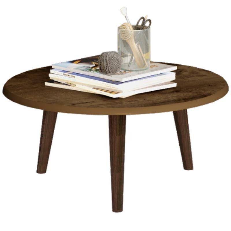 Mesa de Centro Decorativo B02 Madeira Rústica - Lyam Decor
