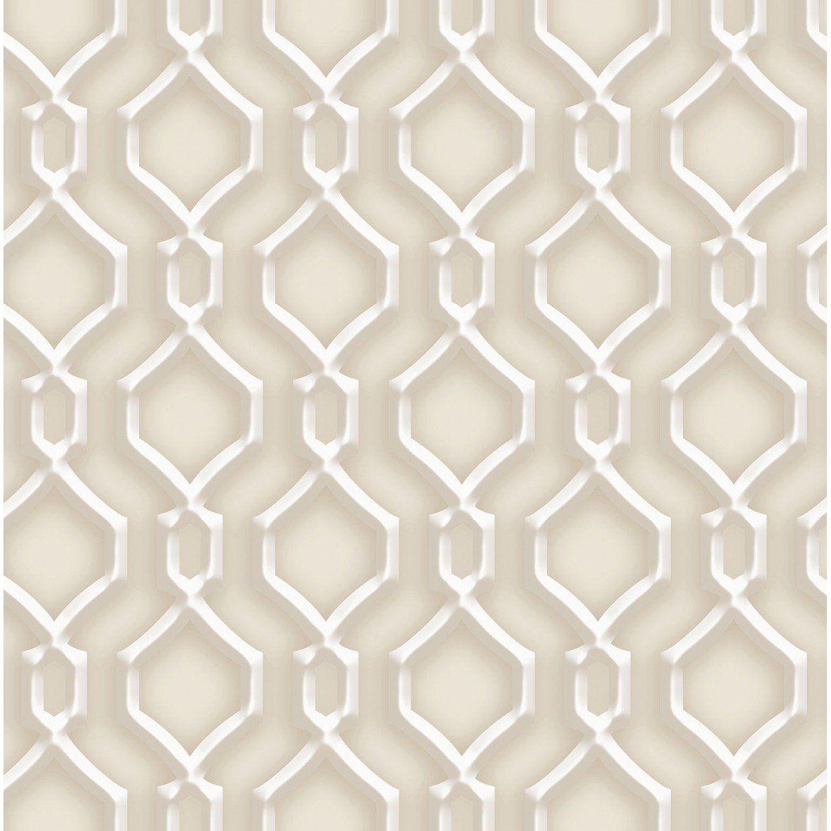 Papel de Parede Bobinex Coleção Dimensões Alhambra Marrom L01 4708 - Lyam Decor