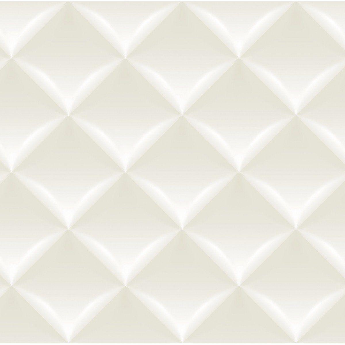 Papel de Parede Bobinex Coleção Dimensões Almofada Bege L01 4711 - Lyam Decor