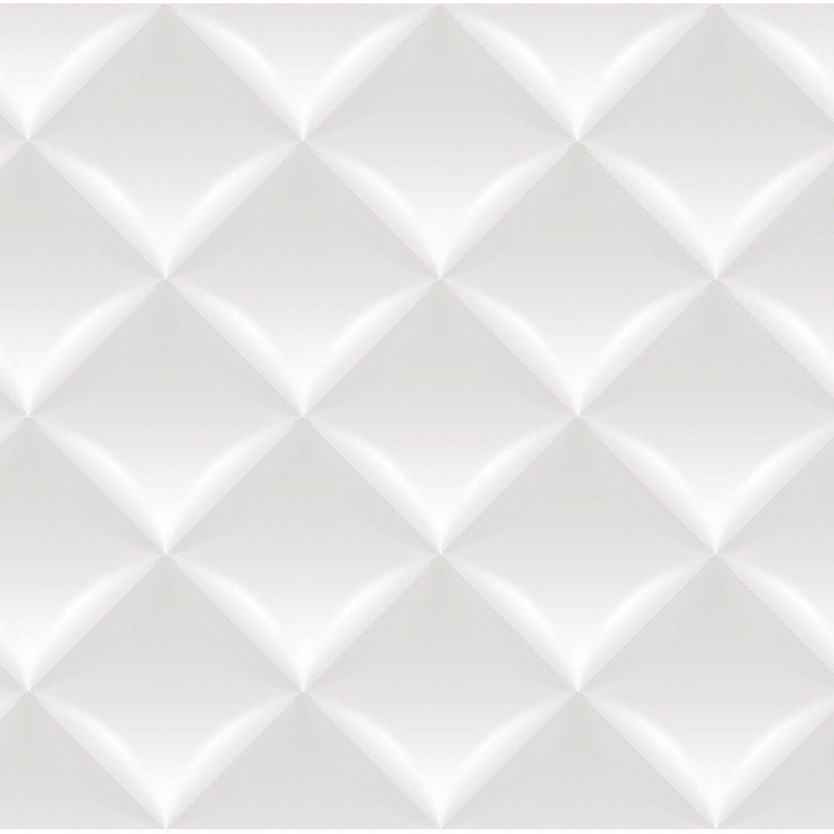 Papel de Parede Bobinex Coleção Dimensões Almofada Cinza L01 4712 - Lyam Decor
