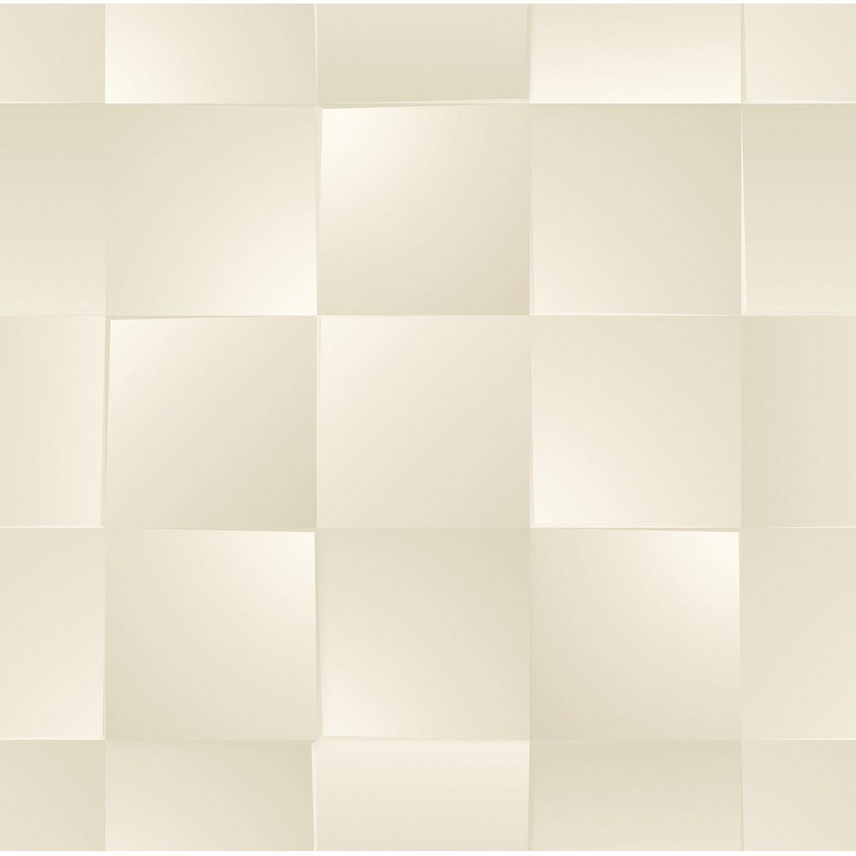 Papel de Parede Bobinex Coleção Dimensões Quadrado Bege L01 4715 - Lyam Decor