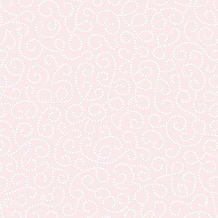 Papel de Parede Bobinex Coleção Renascer Arabesco de Flor Branco e Rosa L01 6256 - Lyam Decor