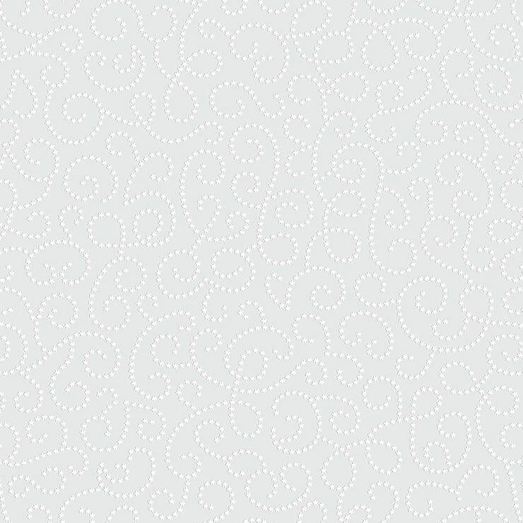 Papel de Parede Bobinex Coleção Renascer Arabesco de Flor Cinza L01 6257 - Lyam Decor