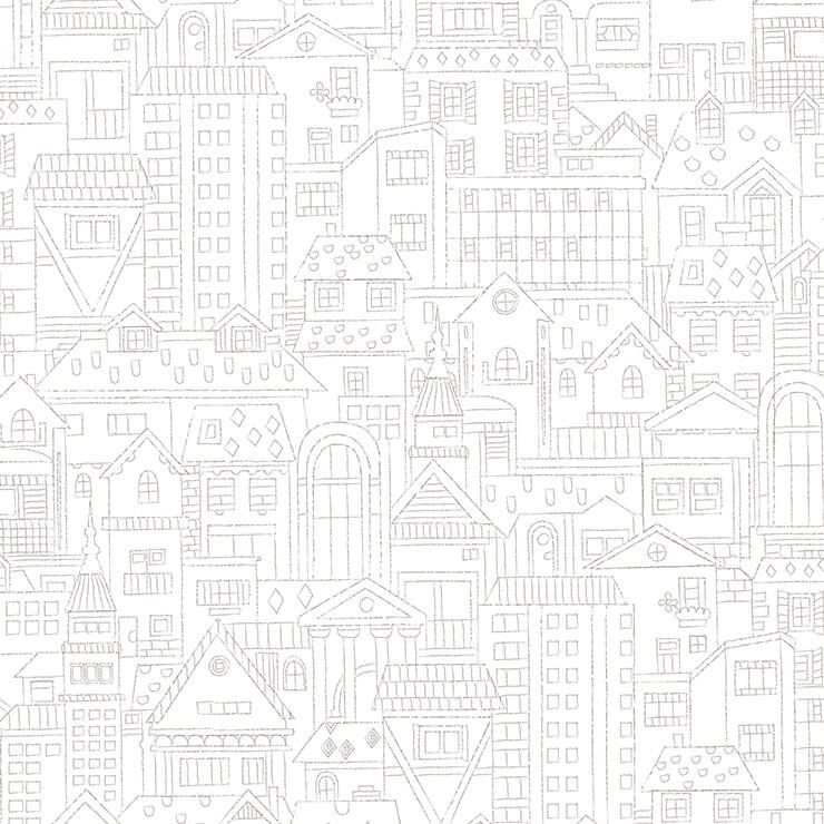 Papel de Parede Bobinex Coleção Renascer Cidade dos Bichos L01 6202 - Lyam Decor