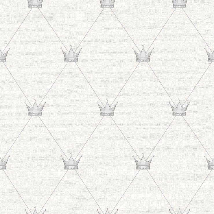 Papel de Parede Bobinex Coleção Renascer Coroa Cinza L01 6230 - Lyam Decor
