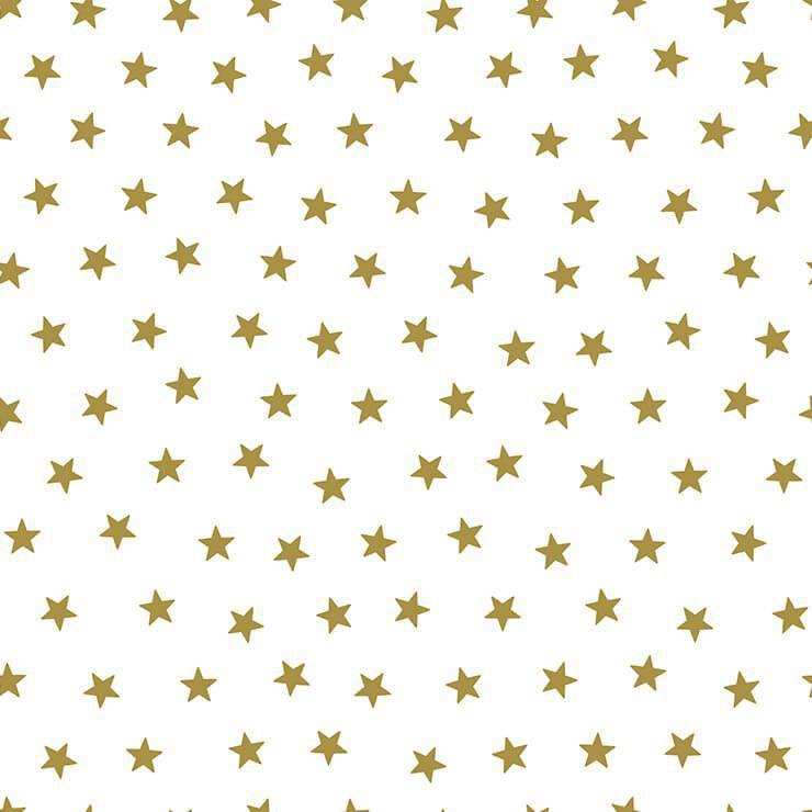 Papel de Parede Bobinex Coleção Renascer Estrela Pequena Dourada L01 6212 - Lyam Decor