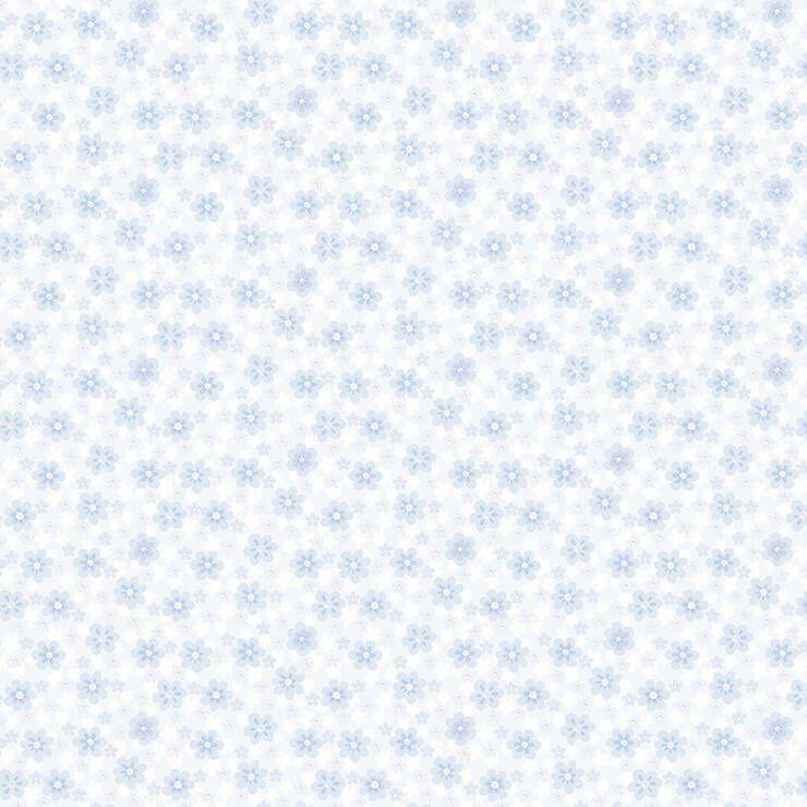 Papel de Parede Bobinex Coleção Renascer Florzinha Azul L01 6251 - Lyam Decor