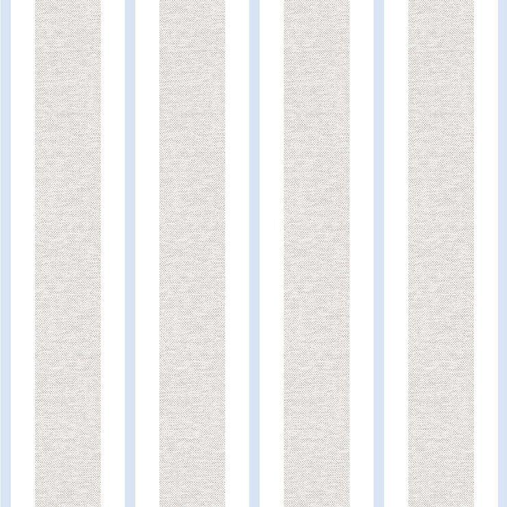 Papel de Parede Bobinex Coleção Renascer Listra Clássica Azul Claro L01 6263 - Lyam Decor
