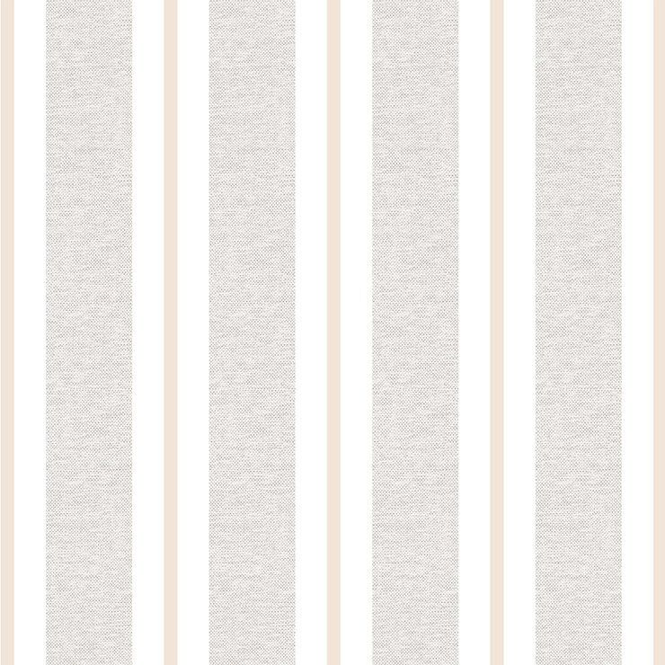 Papel de Parede Bobinex Coleção Renascer Listra Clássica Bege L01 6262- Lyam Decor