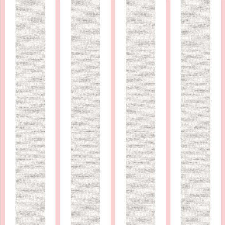 Papel de Parede Bobinex Coleção Renascer Listra Clássica Rosa L01 6265 - Lyam Decor
