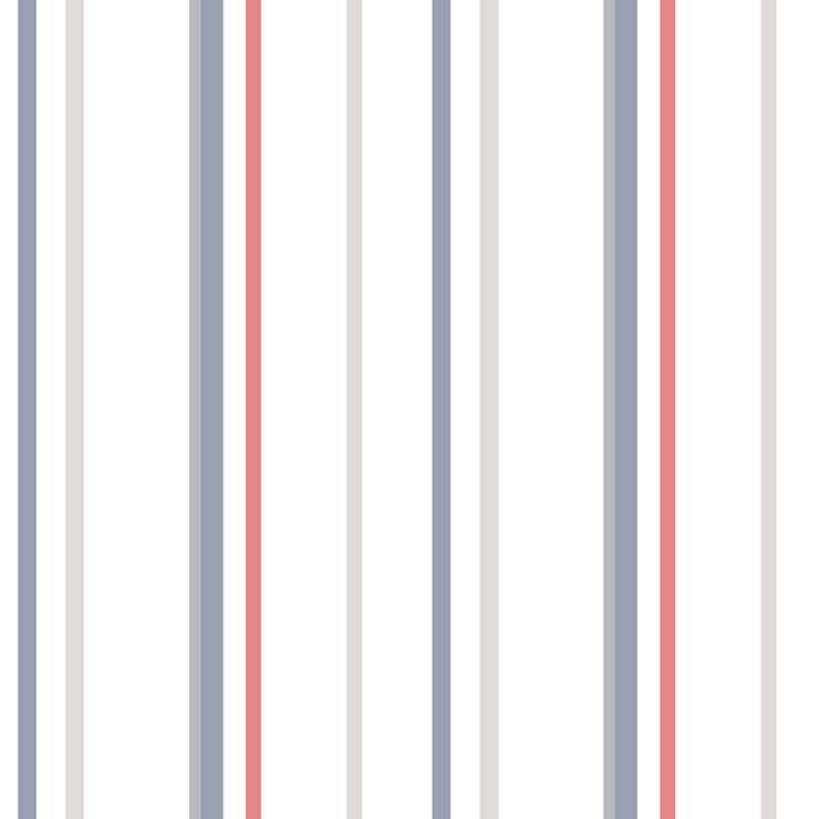Papel de Parede Bobinex Coleção Renascer Listra Soft Navy L01 6210 - Lyam Decor