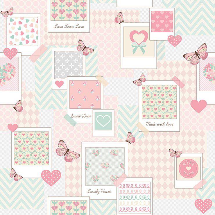 Papel de Parede Bobinex Coleção Renascer Patch Love L01 6221 - Lyam Decor