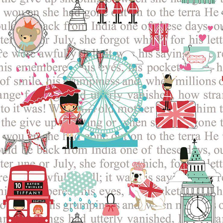 Papel de Parede Bobinex Coleção Renascer Pink London L01 6226 - Lyam Decor