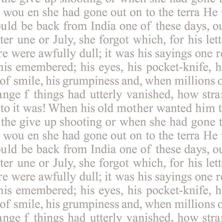 Papel de Parede Bobinex Coleção Renascer Texto London L01 6227 - Lyam Decor