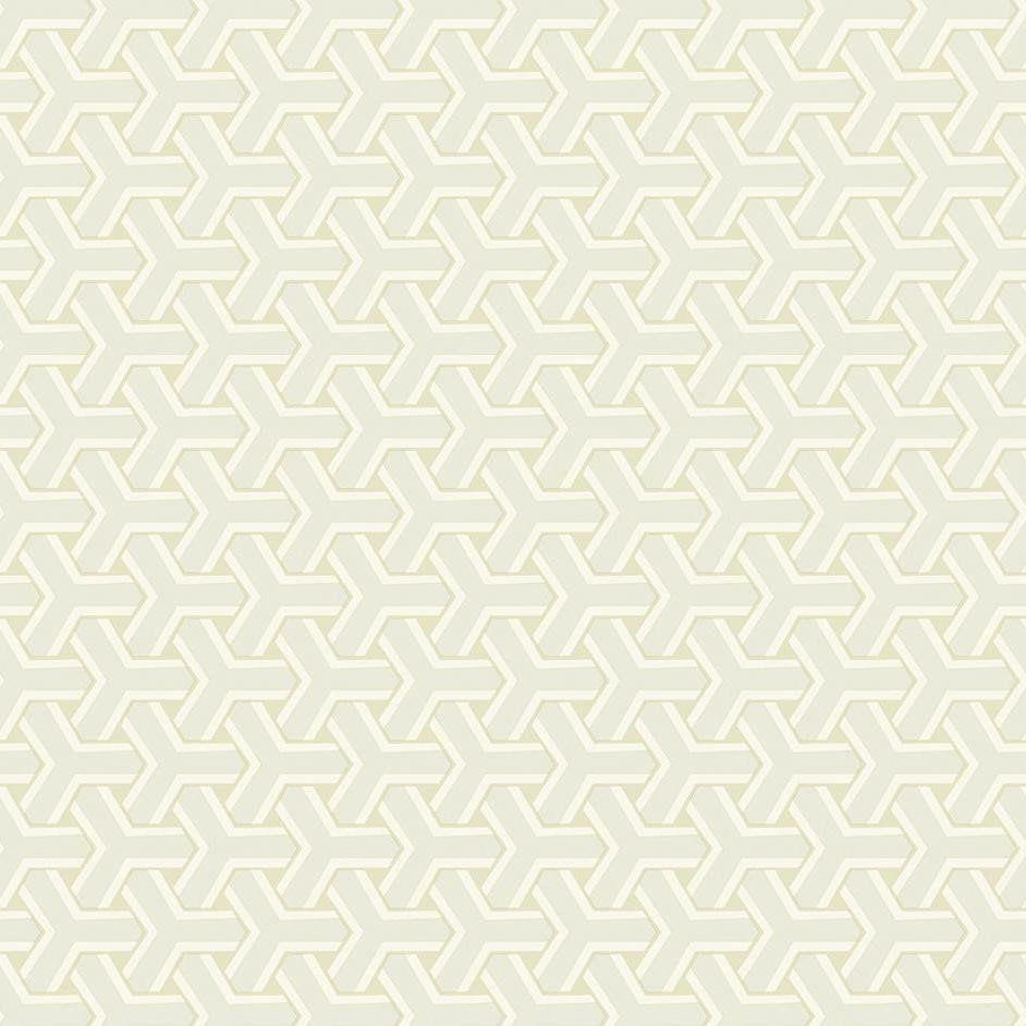 Papel De Parede Coleção Diplomata Geometrico Boolmerang Branco Bege Gelo L01 3108 Bobinex