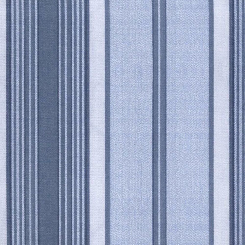 Papel de Parede Classique Azul, Branco Listrado L01 2832 Bobinex
