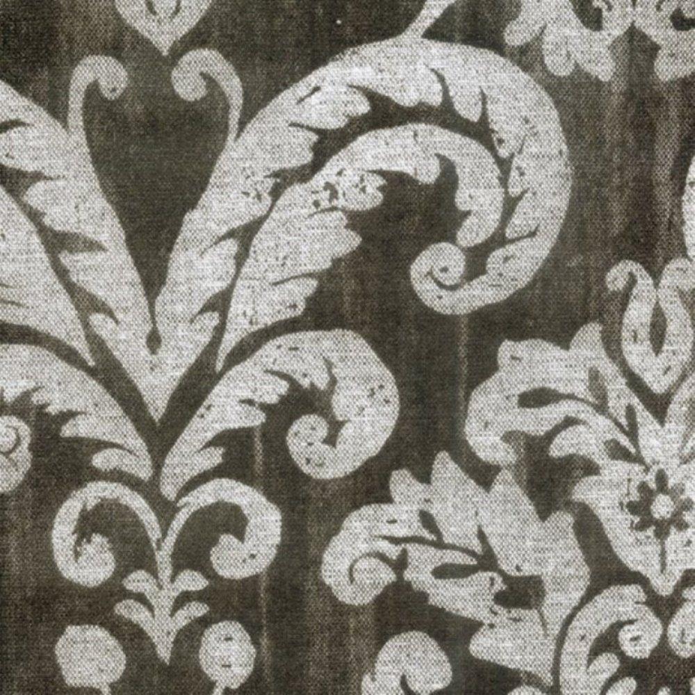 Papel de Parede Classique Cinza, Branco Arabesco L01 2844 Bobinex